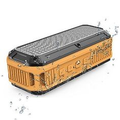 This Bluetooth 3.0 NFC Outdoor speaker is waterproof and Dustproof, it's the best speaker for outdoor activities just like biking. And with NFC Technology which allows one touch pairing for easy and instant connection. So, it will be more convenient compared with other Bluetooth speakers.