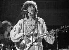 George Harrison during the Dark Horse tour.