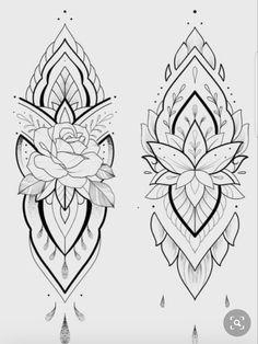 Armband Tattoo Design, Lotus Tattoo Design, Sketch Tattoo Design, Floral Tattoo Design, Flower Tattoo Designs, Tattoo Sketches, Mandala Arm Tattoos, Floral Mandala Tattoo, Family Tattoo Designs