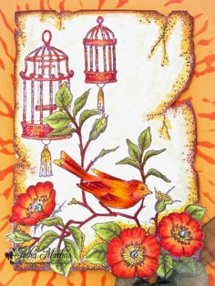 Sunny Summer Crafts: Chocolate Baroque Colour Challenge #7