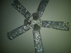 My husband MUST deal with our ceiling fan looking like this!!!! Lol
