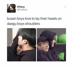 Daegu and Busan boys