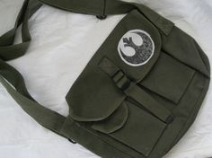 Messenger bag with Star Wars Jedi Order patch