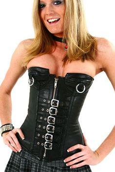 Corset Steampunk 2 Piece Noir Sans Bretelle Buste Pas Cher www.modebuy.com @Modebuy #Modebuy #Noir #vêtements #femme