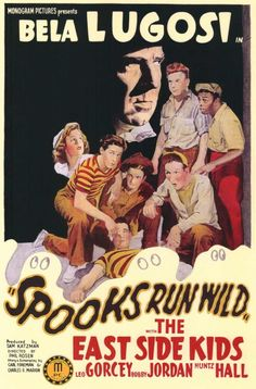 Spooks Run Wild (1941) starring Bela Lugosi & The East Side Kids