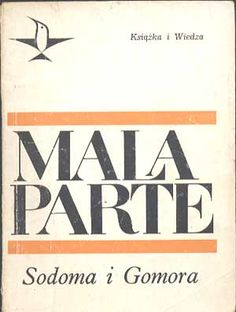 Sodoma i Gomora, Curzio Malaparte, KiW, 1967, http://www.antykwariat.nepo.pl/sodoma-i-gomora-curzio-malaparte-p-325.html