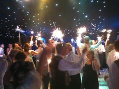 Starlight and sparklers #bestintentmarquees