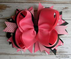 Girls hair bows Hair bow for baby toddler by PoshPrincessBows1