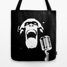 Wild scream! #totebag #illustration #vector
