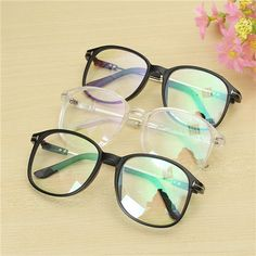 fbb89958ef Men Women Transparent Eyeglass Frame Full Rim Spectacles Clear Glasses  Eyewear Cool Sunglasses