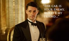 Mary's beau, racecar driver Henry Talbot - Matthew Goode in Downton Abbey Season set in 1925 (TV series). Downton Abbey Season 6, Downton Abbey Series, Downton Abbey Fashion, Matthew Goode Downton Abbey, Henry Talbot, Mathew Goode, Lady Mary Crawley, A Discovery Of Witches, Your Turn