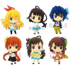 AmiAmi [Character & Hobby Shop] | Color Colle DX - Nisekoi: 8Pack BOX(Pre-order)
