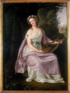 Marie-Antoinette d'Autriche-Lorraine, Reine de France et de Navarre (1755-1793); L. Güttenbrunn, 1788.