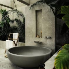 Fight me all you want, but feeling the cool breeze while chilling in a warm bath is nothing to scoff at. 29 Pictures Of Beautiful Bathrooms That'll Actually Calm You Down Modern Bathroom Design, Bathroom Interior Design, Modern House Design, Interior Decorating, Bathroom Designs, Design Kitchen, Kitchen Interior, Outdoor Bathrooms, Dream Bathrooms