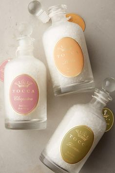Review: All About TOCCA: Sali da Bagno Bath Salt Collection, Sapone Luxe Collection Bar Soap, Capelli Profumati Hair Fragrance