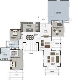 Benmore 3 bedroom house plan Landmark Homes builders NZ