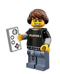 Lego Minifigure Serie 12 Video game guy