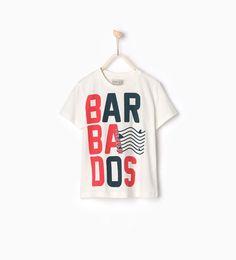 ZARA - KIDS - Barbados T-shirt