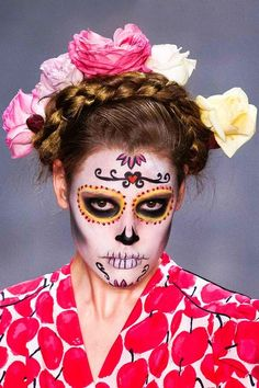 Day of the Dead Makeup Ideas for women