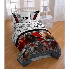 Twin Size Bedding Star Wars Episode 7 Boys 5-Piece Bed in a Bag Sheet Set New…