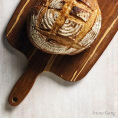 ©Jenna Gang | www.jennagang.com Rustic Bread, Serving Bowls, Tableware, Dinnerware, Artisan Bread, Tablewares, Dishes, Place Settings, Peasant Bread