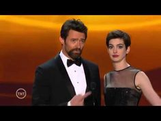 The real plot of Les Miserable!  Anne Hathaway and Hugh Jackman SAG 2013