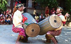 Epicure & Culture - Adventure Travel: Top Food And Fitness Fusion Safaris For 2014 Gendang Beleq Traditional Dance, Bali Indonesia (Feb 18, 2014)