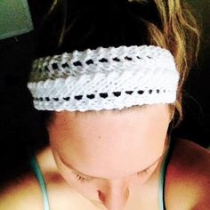 Items similar to Lacey Headband on Etsy Ear Warmers, Hand Knitting, Snug, Etsy Shop, Colours, Facebook, Black And White, Trending Outfits, Children