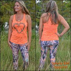 Sporty Girl Apparel - camo leggings Full Length or Capri , $49.95 (http://www.sportygirlapparel.com/camo-leggings-full-length-or-capri/)