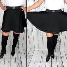 Szukacie eleganckiej spódnicy na uroczystą kolację wigilijną lub wystawnego Sylwestra? Mamy dla Was piękną włoską spódnicę z koła z ozdobnym rantem. http://allegro.pl/new-wyjatkowa-spodnica-elegancka-i-stylowa-czern-i4903887759.html Świetnie układa się na sylwetce!