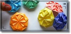 Кусудама - лечебное оригами LIFE PoSt