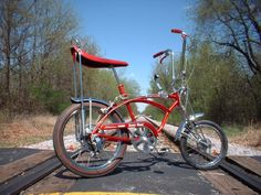 What every 10 year old boy dreamed of in 1976. The Schwinn Sting Ray. Did you ever have a bike with a banana seat?