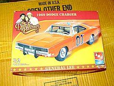 Dukes Of Hazard 1969 Dodge Charger General Lee Model Kit