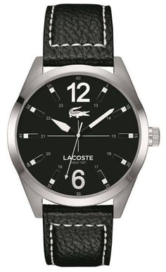 Iconic sport chic watch, Montreal is Lacoste must-have from day to night. https://www.facebook.com/CertifiedWatchStore