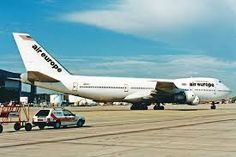 Image result for air europe 747