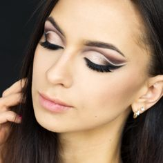 Check out our favorite Makeup inspired makeup look. Embrace your cosmetic addition at MakeupGeek.com!