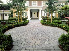 Walkway Paving Stones Pictures - Brick Paver Walkways - System Pavers