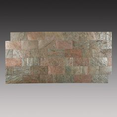 "Found it at Wayfair - 3"" x 6"" Slate Peel & Stick Splitface Tile in Copper"