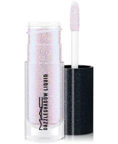 Mac Dazzleshadow Liquid - Diamond Crumbles - holographic blue w/ p Mac Makeup, Eyeshadow Makeup, Beauty Makeup, Eyeliner, Dior Makeup, Makeup Brushes, Sombras Mac, Mac Cosmetics, Makeup Products