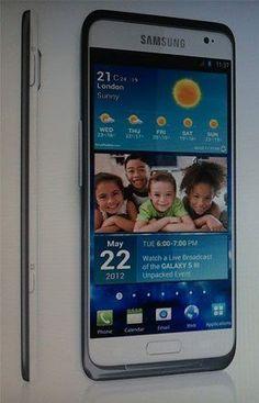 Samsung Galaxy S III: lo voglio!