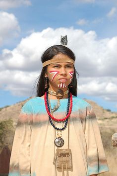 native girl in tribal dress, Mexico by pazes, via Flickr