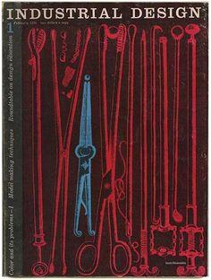 Jane Fisk Mitarachi [Editor]: INDUSTRIAL DESIGN. New York: Whitney Publications, Inc., Volume 3, Number 1, February 1956.
