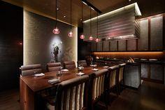 "The Ritz-Carlton, Kyoto ""Mizuki"" Asian Design, Japanese Design, Luxury Restaurant, Private Dining Room, Bar Lounge, Interior Design Companies, Hospitality Design, Dining Area, Studio"