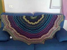 Butterfly Dream shawl DROPS 133-1 made by Loly.