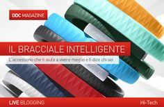 HI-TECH  IL #BRACCIALE  INTELLIGENTE. L' #accessorio  che ti aiuta a vivere meglio e ti dice chi sei.  Lo metti al polso ed il gioco è fatto:  il braccialetto hi-tech Up monitorerà l' #attivitàfisica , il #sonno  e le abitudini alimentari per darti consigli personalizzati su come migliorare il tuo stile di #vita .  Scoprilo sul nostro blog... http://www.danieladicosmoadv.it/blog/?p=6134