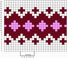 Tapestry Crochet Patterns, Fair Isle Knitting Patterns, Knitting Charts, Mosaic Patterns, Knitting Stitches, Knitting Designs, Knit Patterns, Cross Stitch Patterns, Baby Hats Knitting
