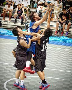 騎馬戦?ケンジのこと持ち上げてるみたい😅💦 #TRYHOOP#tryhoopokayama#okayama #jba3x3#3x3#basketball #KenjiHilke#比留木謙司