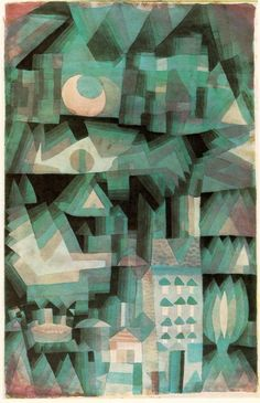Dream city 1921 - Paul Klee - WikiPaintings.org