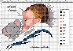 Baby Cross Stitch Patterns, Cross Stitch Pillow, Just Cross Stitch, Cross Stitch Baby, Cross Stitch Samplers, Cross Stitch Charts, Cross Stitch Designs, Cross Stitching, Cross Stitch Embroidery