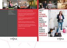 Insteekmap ter promotie van bedrijfs onroerend goed voor Vestia.